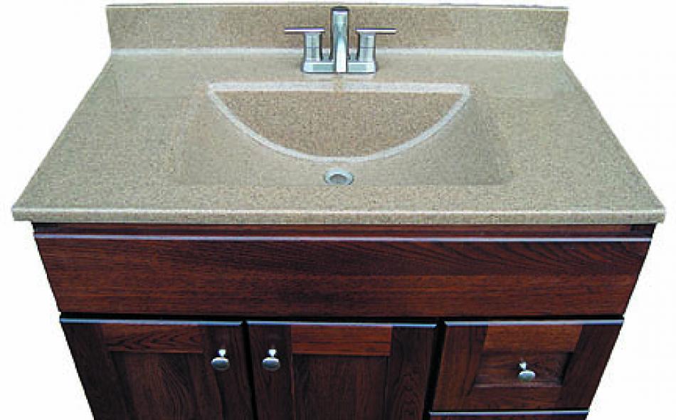 Double Wave Bowl Vanity Tops : Wave sink bathroom design ideas