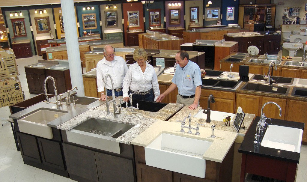 Showroom Apron Front Sinks large