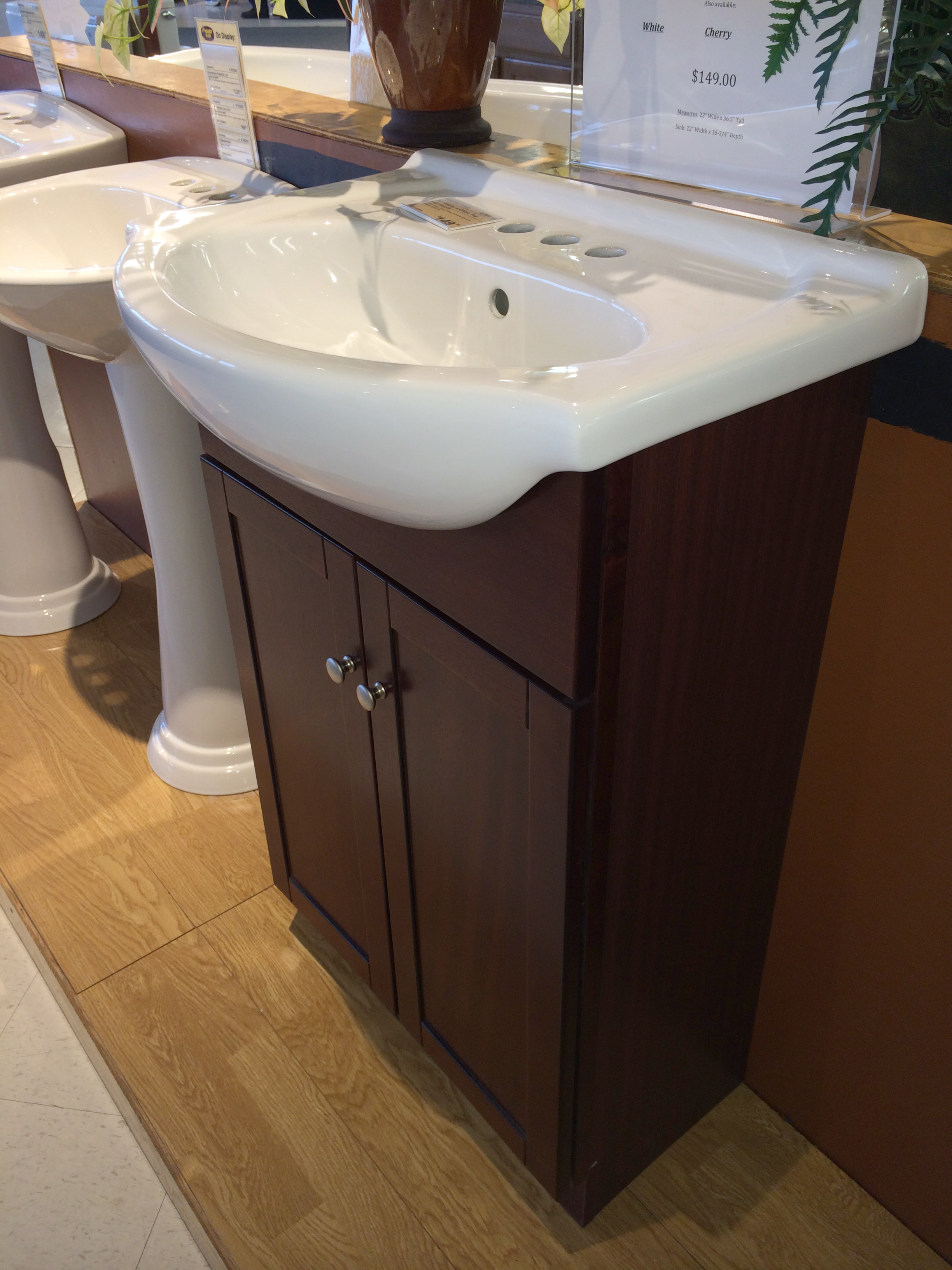 ... Types of Sinks: Bathroom Lavatory / Pedestal Sink Handy Man