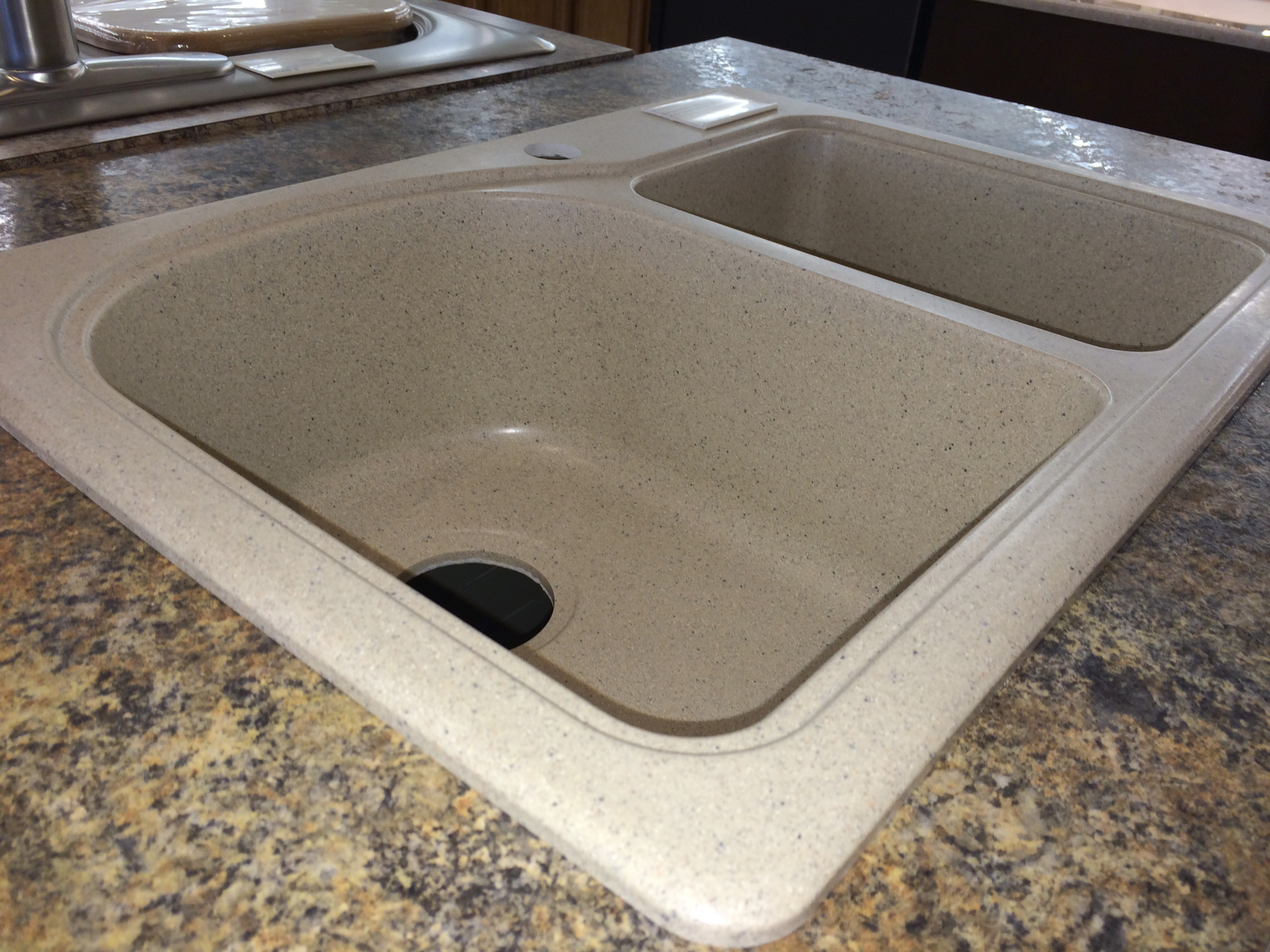 Different types of sinks drop in sinks handy man showroom kitchen sinks amy stephen img3160 workwithnaturefo