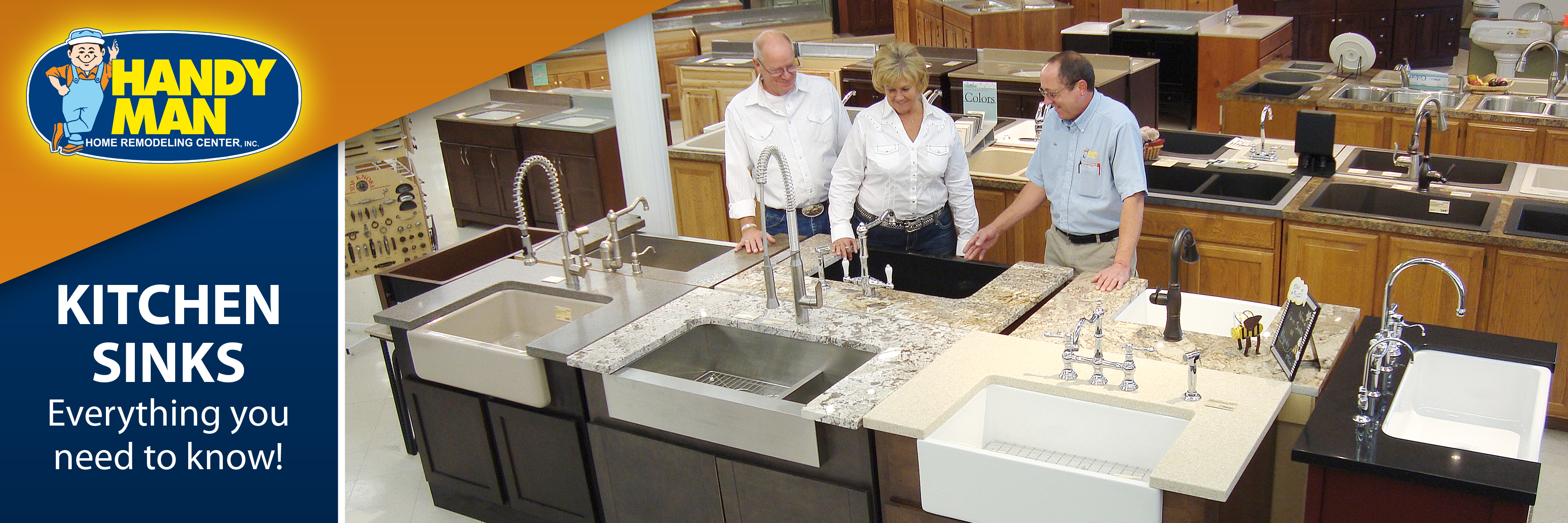 Handy man kitchen sinks the bow tie of your kitchen there are more choices available for kitchen sinks today than ever before let the experts at handy man show you the features and options that will make sisterspd