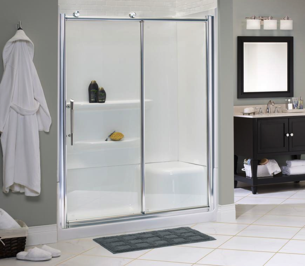 What shower door is best handy man for Bathroom entrance doors