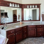 Traditional Angled Double Sinks