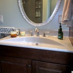 Contemporary Curved Sink
