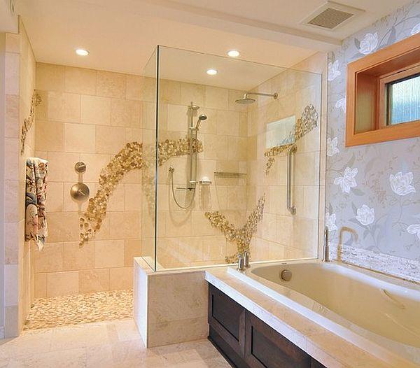 & Doorless Shower