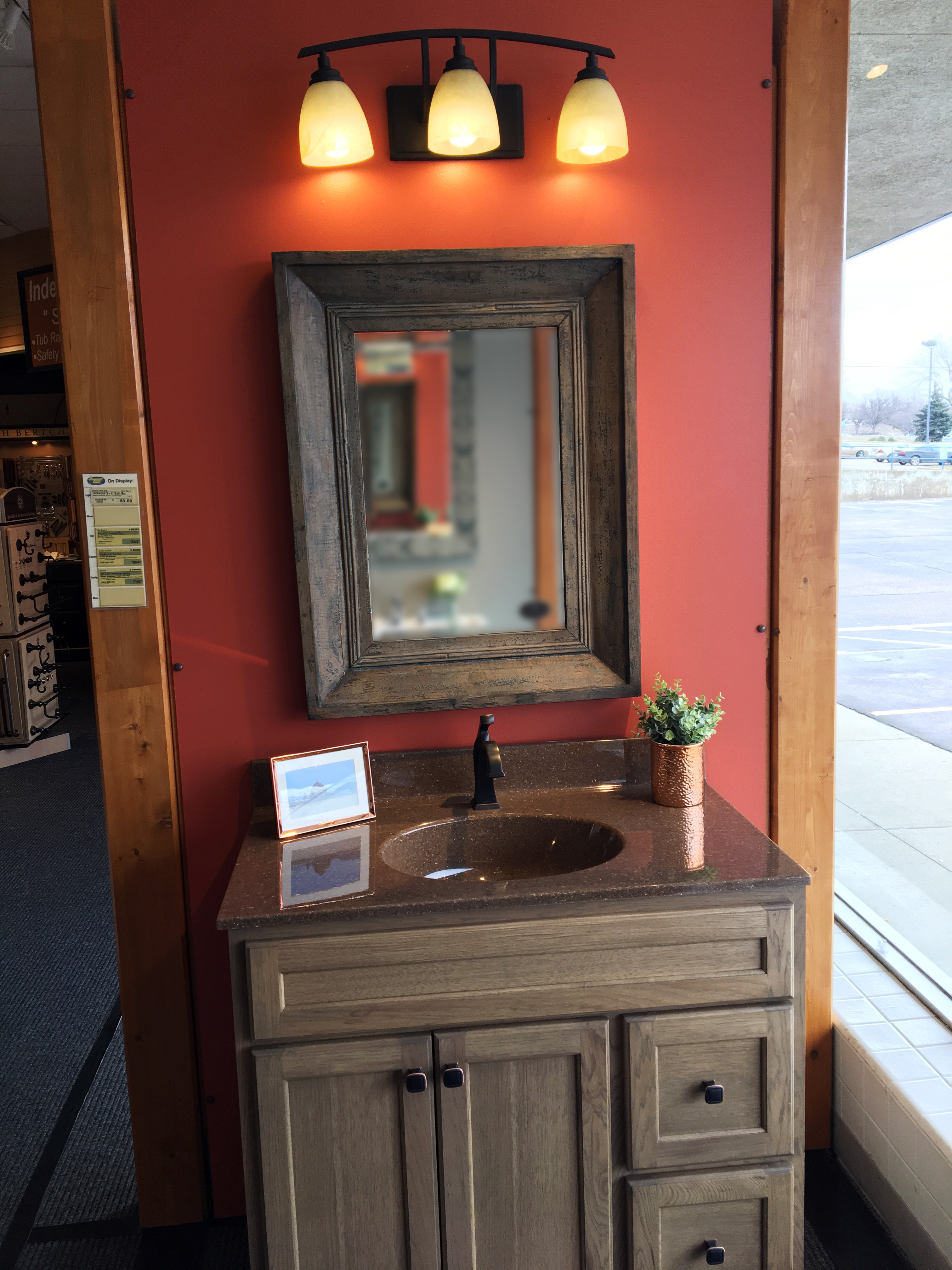 We Show Dozens Of Display Setups For You To Visualize Different Pieces  Together. We Have Dozens Of Lights, Mirrors, And Medicine Cabinets On  Display And ...