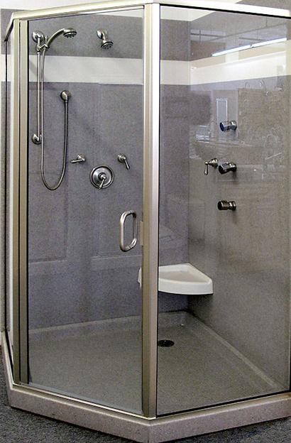 Custom Onyx Shower