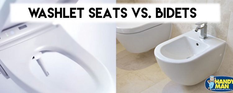 Washlet Seats Vs. Bidets