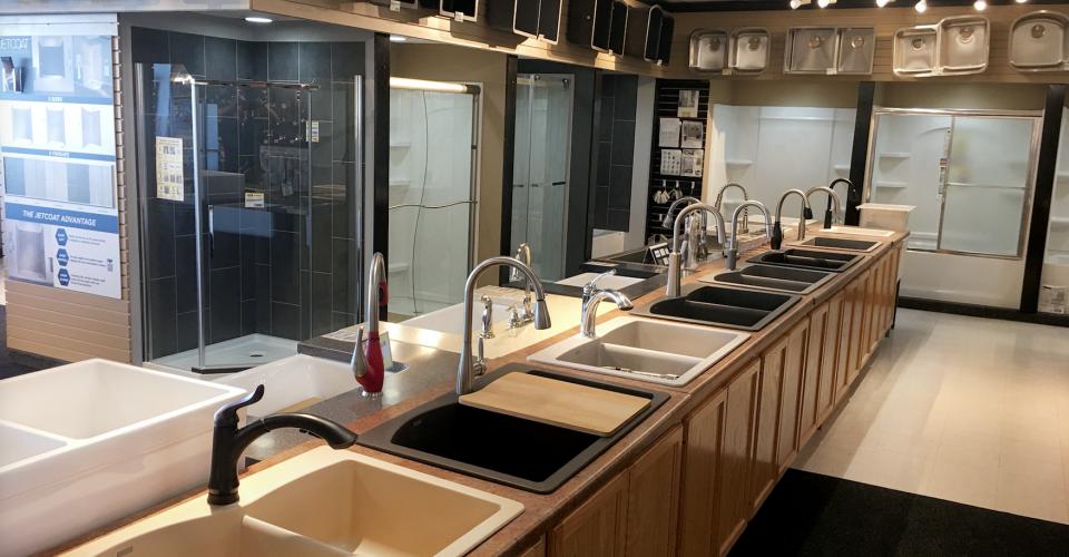 Showroom Kitchen Sinks