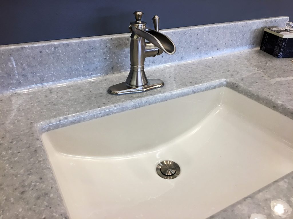 Pewter Waterfall Faucet