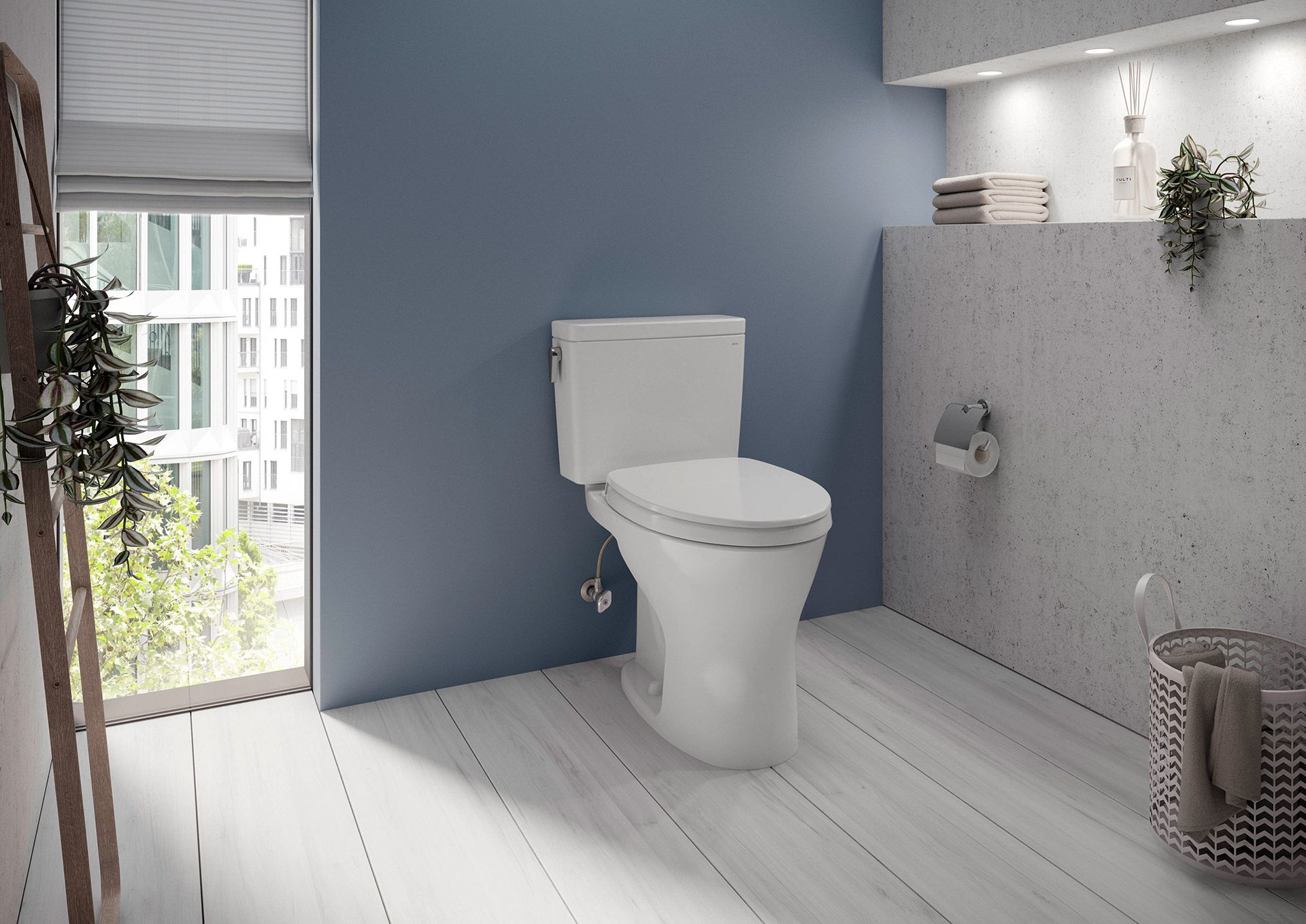 Keeping a Toto toilet clean